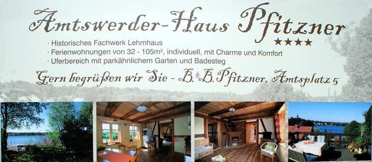 Amtswerder - Haus Pfitzner - Titelbild 1