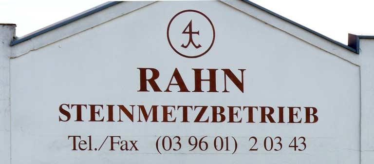 Steinmetzbetrieb Rahn - Titelbild 1