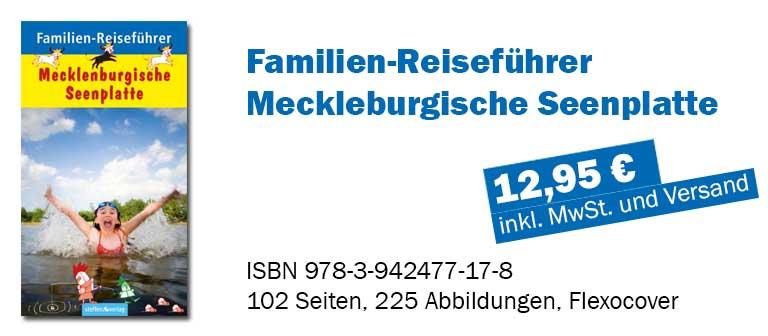 Familien-Reiseführer Mecklenburgische Seenplatte - STEFFEN Verlag - Titelbild 1