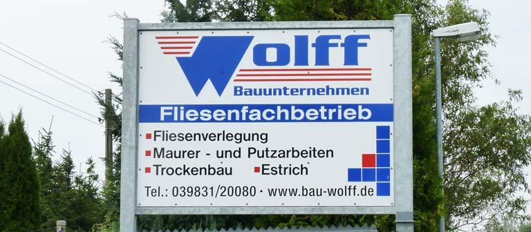 Wolff Bauunternehmen - Meisterhandwerksbetrieb - Titelbild 1